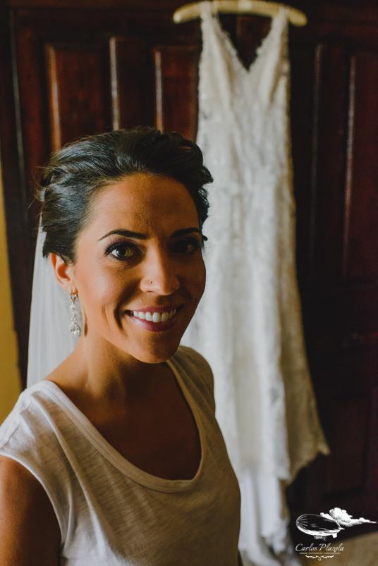 Emily the bride!