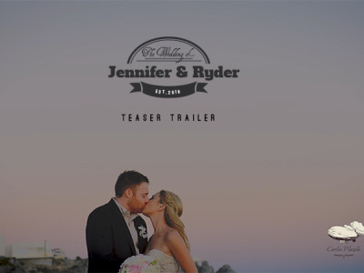 Jennifer and Ryder Teaser Trailer / Destination wedding in Cabo Mexico